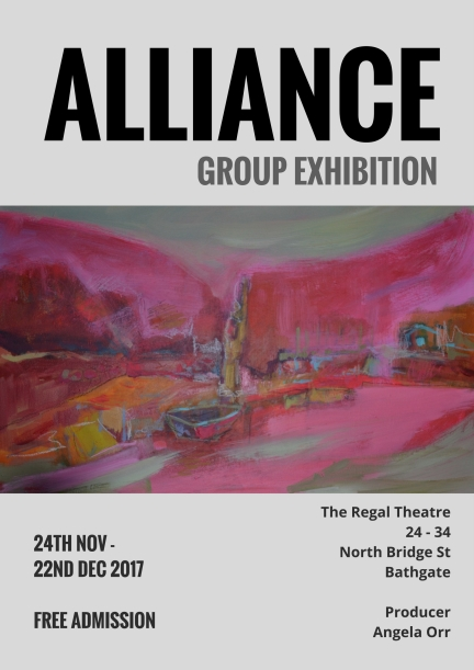 JPEG Poster - Alliance Group Exhibition